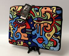 Enesco Billy The Artist Collection Neoprene 15 Inch Laptop Case Zipper Close