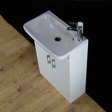 Vanity Unit Cabinet Basin Sink Bathroom Cloakroom Floor standing 550 Tap 214