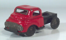 "Vintage 1950s Tin Semi Tractor Cab 4.5"" Scale Model Friction Powered Japan"
