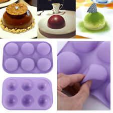 Half Sphere Ball Silicone Chocolate Mold Cake Decor Cupcake Muffin Baking Mould
