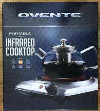Ovente Portable Infrared Cooktop Electric Burner Single Plate Hot Cooking Stove