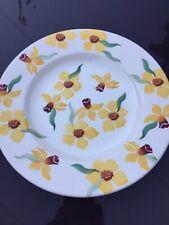 "Emma Bridgewater  Daffodil Plate 8.5""   1st Quality"