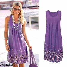 Women Summer Boho Short Maxi Dress Cocktail Evening Party Dresses Beach Sundress