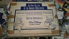 Disney Fantasia Standee Video Store Cardboard Vintage Mickey Large Floor Display