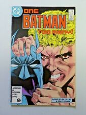 DC Comics ONE BATMAN TOO MANY! No. 403  January 1987  260