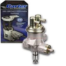 Carter Fuel Pump for 1995-1998 Ford E-350 Econoline 7.3L V8 - Mechanical Gas jy