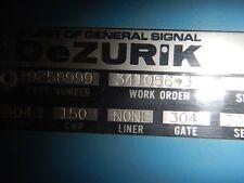 "DEZURIK SIZE 6"" VALVE ACTUATOR 9258999"