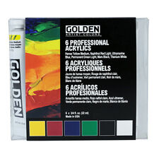 Golden Heavy Body Acrylic 6x22ml Introductory Set