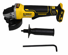 DeWalt DCG413B 4.5 in 20V Max XR Paddle Switch Angle Grinder w Kickback Brake