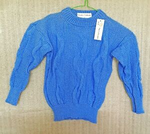 CHILD'S 4 PLY CABLE KNIT JUMPER. TO FIT:- 2 TO 3 YRS