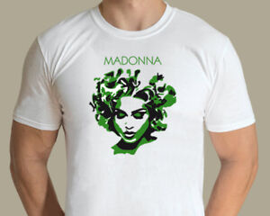 Madonna - Green Madonna T-shirt (Jarod Art Design)