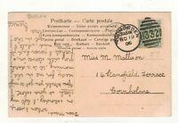 EDW.VII. 1906 TODMORDEN  DUPLEX. POSTMARK.PLEASE SEE PICTURE