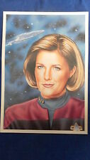 STAR TREK LIMITED EDITION PRINT OF CAPTAIN JANEWAY (NUMBERED)