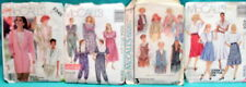 4 Vintage LADIES SEWING DRESS PATTERNS Sizes 10-12-14 ONE MATERNITY