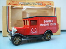 Lledo Promotional Model LP13 A Ford Van Bowers Motorcycles 60th Bury St Edmunds