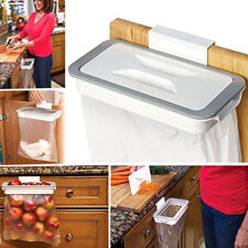 Supporto porta sacco busta spazzatura cucina rifiuti clip per anta cassetto