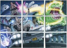 Cryptozoic Ghostbusters 2016 Complete Tricks And Traps Chase Card Set D1-9