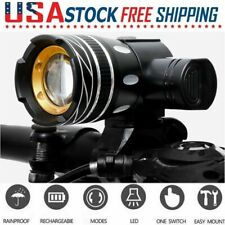 USB Rechargeable Bike Headlight 15000LM XML T6 LED MTB Bicycle Front Head Light