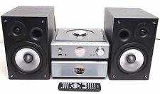 WATSON DESIGN STEREO KOMPAKTANLAGE CD USB MP3 FM RDS RADIO M.LAUTSPRECHERN +  FB