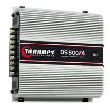 Taramp'S Ds 800X4 1 Ohm 4 Channels 800 Watts Amplifier