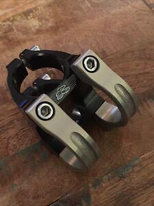Renthal Apex Stem 31.8 Clamp 31mm Length +- 6 Degree Rise