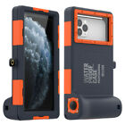 Diving waterproof shell, diving camera phone protective case