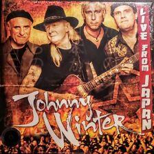 "JOHNNY WINTER - LIVE FROM JAPAN - 2 LP SET - GATEFOLD JACKET "" NEW, SEALED"""