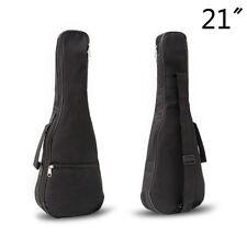 21 inch Ukulele Waterproof Guitar Cover Gig Bag Soft Case Light Gear -Black JKC