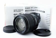 Canon EF-S 15-85mm F3.5-5.6 IS USM AF ZoomLens forEOS EF-S Mount[Exc+++]#423633A