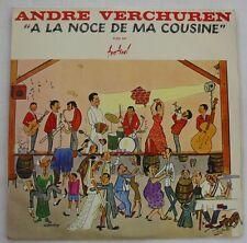 BRUNET - ANDRE VERCHUREN (LP 33T) A LA NOCE DE MA COUSINE