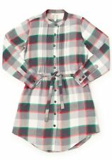 Matilda Jane Coming To Town Dress Size M Medium Plaid Flannel Womens NWT In Bag