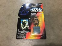 1995 Star Wars red card POTF Jedi Trainer Yoda figure! FREE shipping!