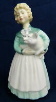 VINTAGE ROYAL DOULTON FIGURINE Stayed at Home HN2207 1958-69 RETIRED by M Davies