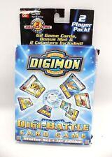 DIGIMON Digi-Battle Card Game Starter Set First Edition COMPLETE - B27
