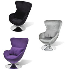 vidaXL Sessel Ei-Form Drehsessel Lounge Clubsessel Relaxsessel mehrere Auswahl
