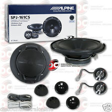 BRAND NEW ALPINE 6-INCH 2-WAY CAR AUDIO COMPONENT SPEAKERS (PAIR) 6