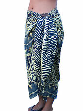 Animal Print SARONG / WRAP / Mu Mu Leopard Tiger Snake Cheetah