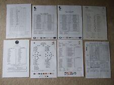 england away team sheet v italy 14/6/14 fifa world cup english issue