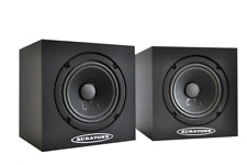 Auratone 5c Black Super Sound Cube studio monitor passivo, coppia, NEW, NUOVO