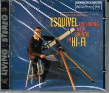 Esquivel Exploring New Sounds in HI-FI  (Living Stereo)  BRAND NEW SEALED  CD
