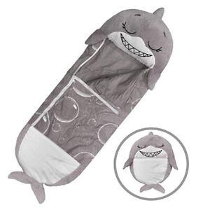 Sleeping Bag Sack Blanket Play Pillow for Kids Children Toddler Unicorn Shark