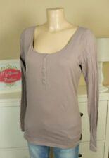 MAISON SCOTCH  Longsleeve Shirt Nude Lila Gr. 2 38 M (AB370)