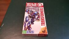 Transformers Wild Card playing Game by Hasbro