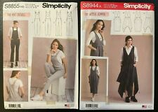 Simplicity S8855 &/or S8944 (Sizes: 6-14 / XS-XL) Knit Overall &
