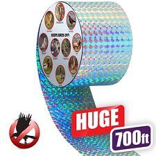 Premium Quality Bird Deterrent Reflective Scare Tape 700 ft Long