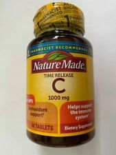 Nature Made Vitamin C 1000 mg ( 60 tablets ) Helps Support the Immune System '23