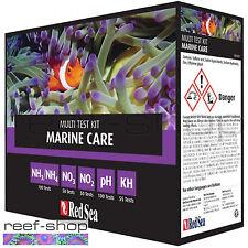 Red Sea Marine Care Multi Test Kit pH Ammonia KH Nitrate Nitrite FREE USA SHIP!