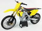 Suzuki RMZ 450 - 1:12 Die-Cast Motocross Mx Motorbike Toy Model Bike New Ray GSX