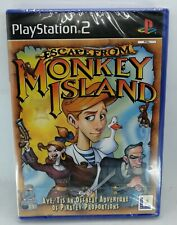 Escape from Monkey Island Game for Sony PlayStation 2 PS2 PAL BRAND NEW & SEALED