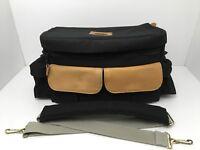 Vintage Camera Bag Pico Glass Designed by Felisi Black Fanny Pack Shoulder Strap